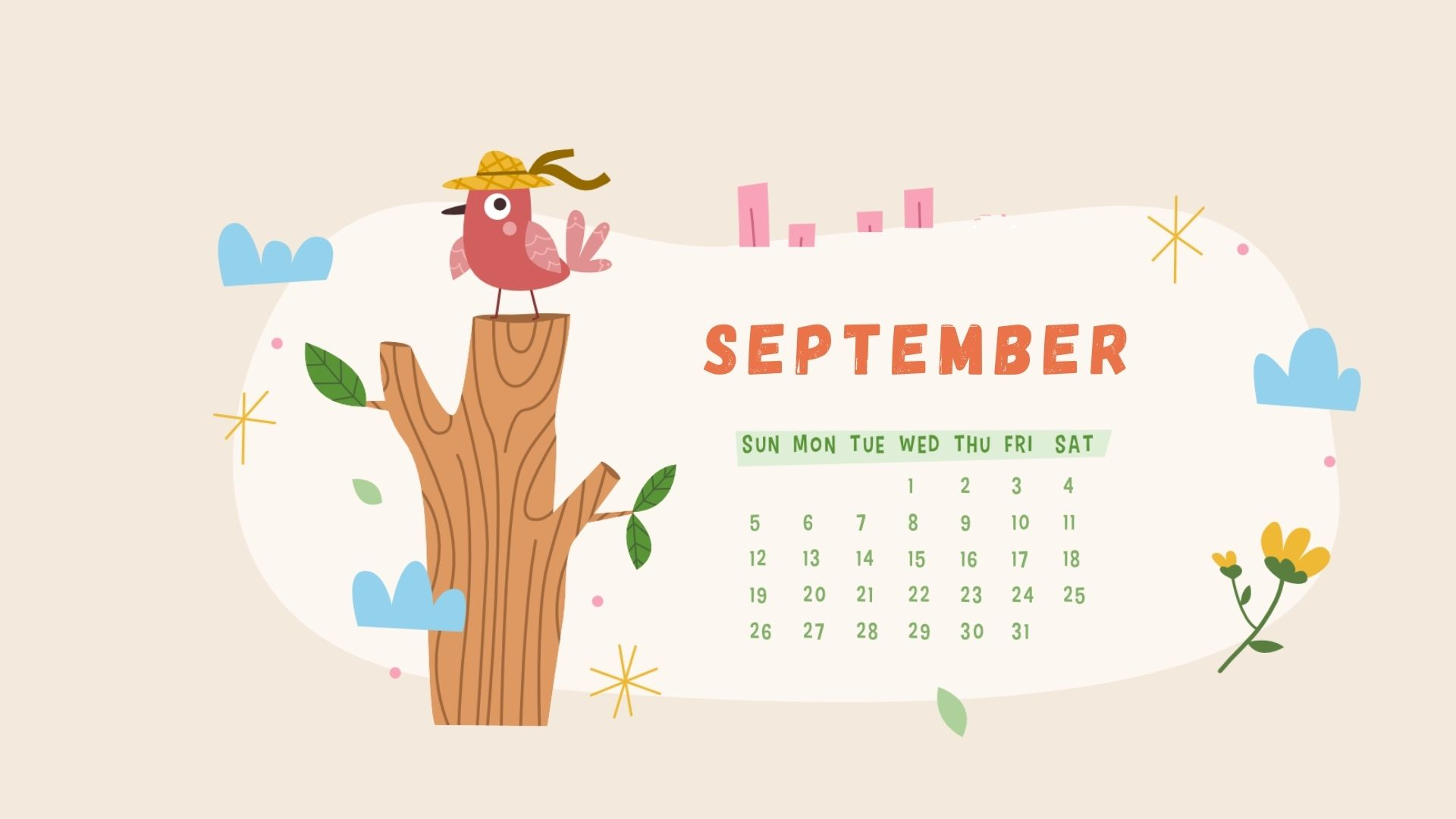 September 2021 Calendar Wallpapers ...