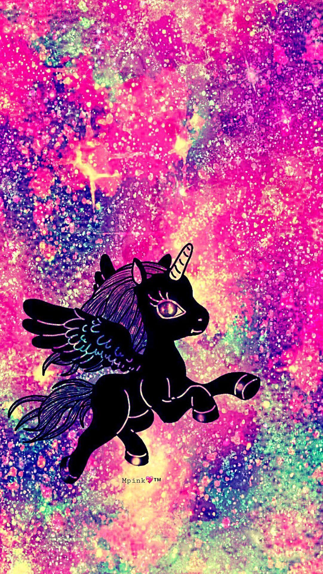 Wallpaper Unicorn Galaxy - Wallpaperzen.org