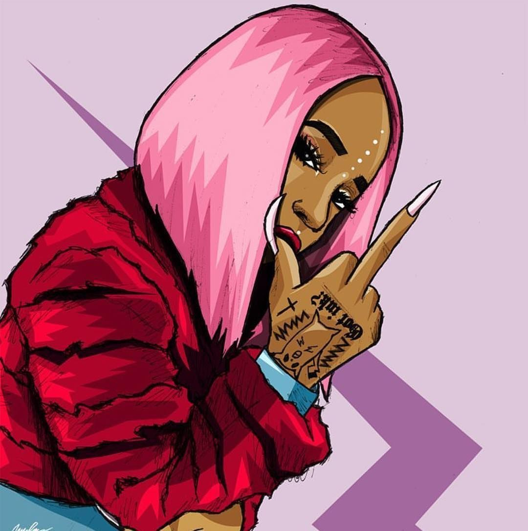 Dope trill wallpapers top free dope trill backgrounds - Cartoon girl wallpaper ...