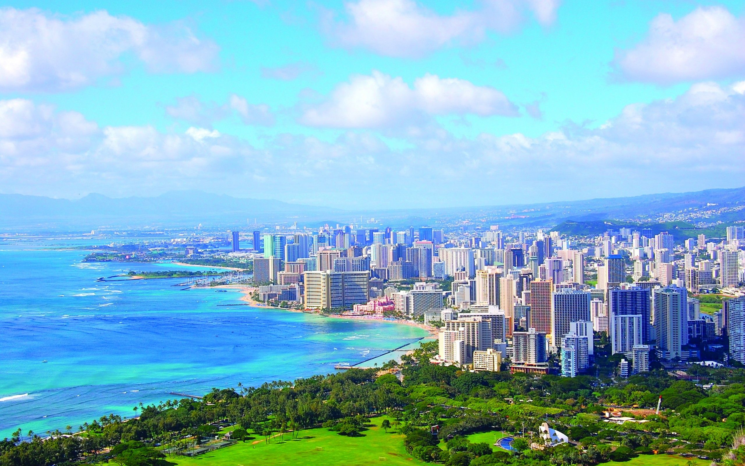 Honolulu Hawaii Wallpapers Top Free Honolulu Hawaii Backgrounds Wallpaperaccess