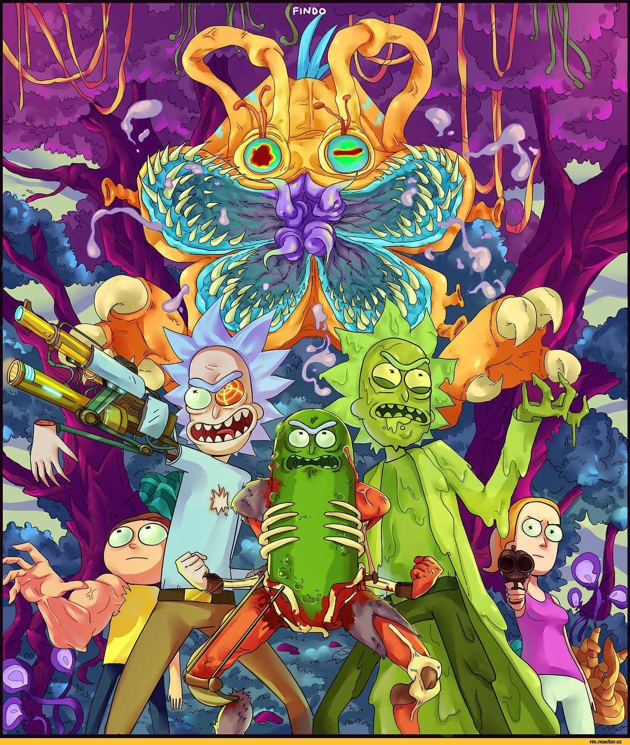 Rick and Morty Trippy Wallpapers - Top