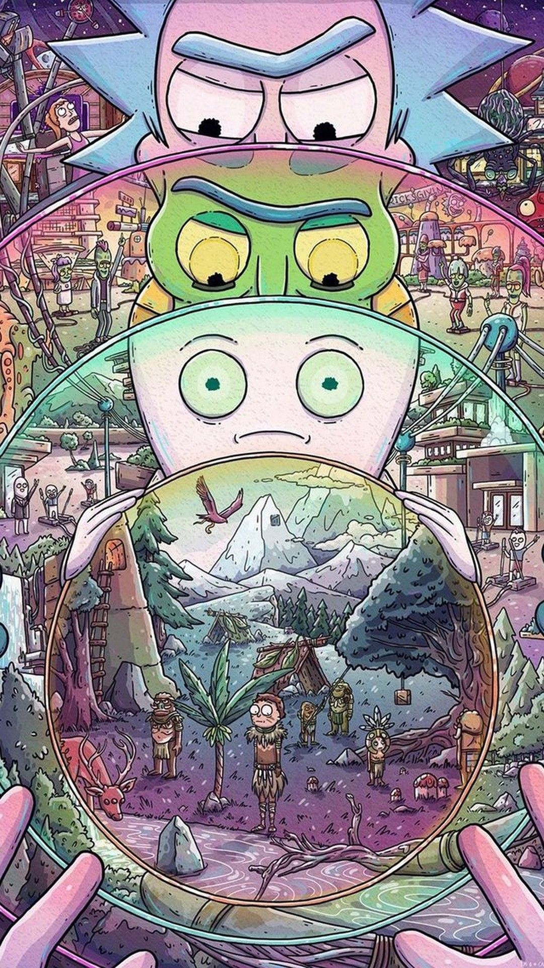 Rick And Morty Trippy Wallpapers Top Free Rick And Morty Trippy