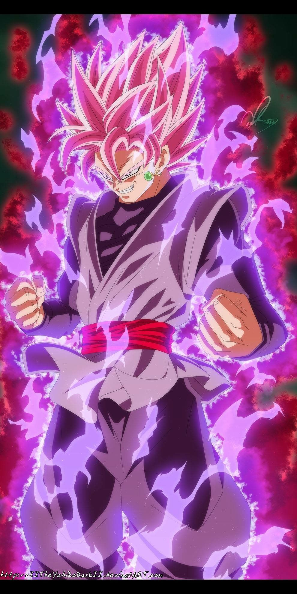 Goku Black Ssj Rose Wallpapers Top Free Goku Black Ssj