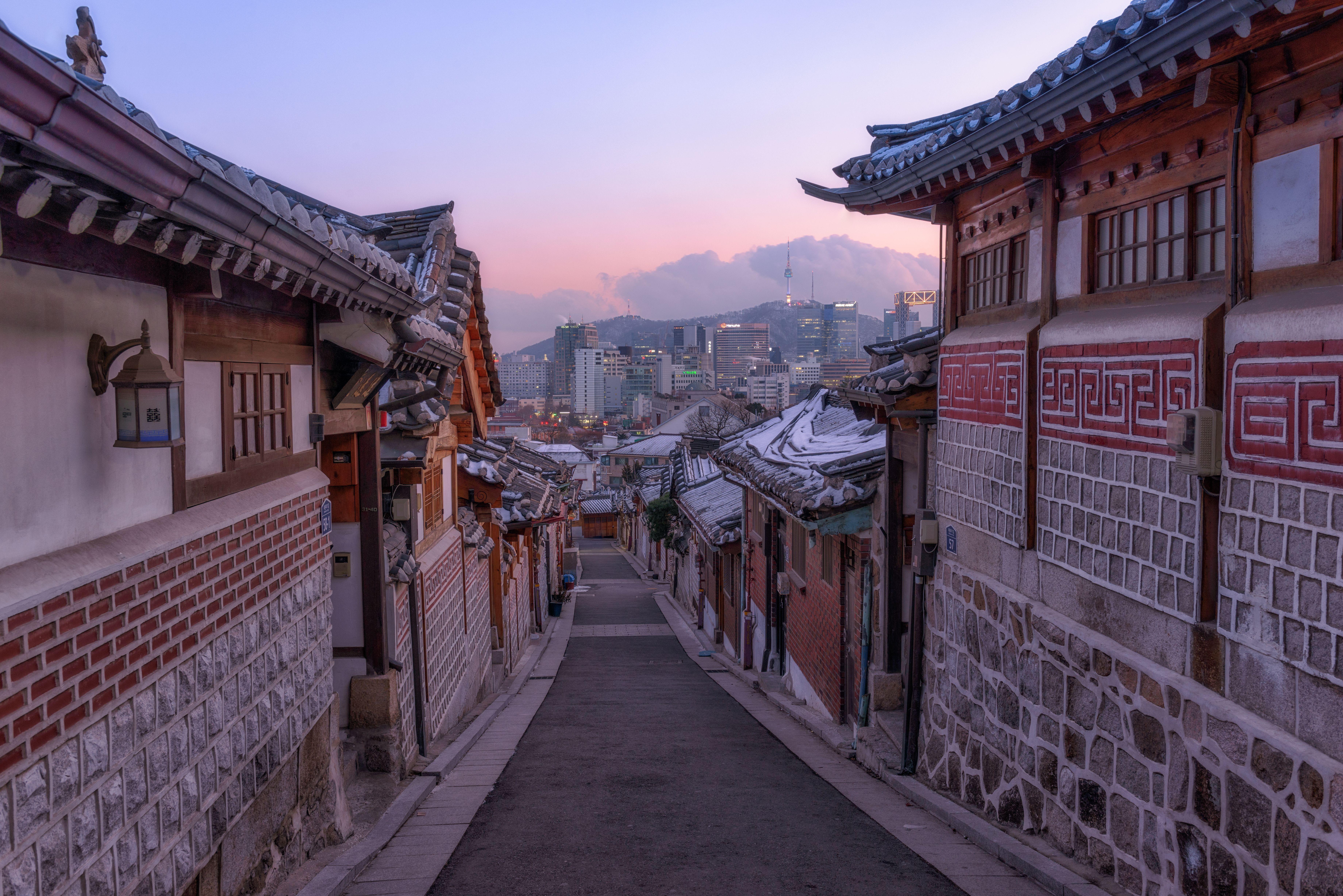 Korea In Winter Desktop Wallpapers