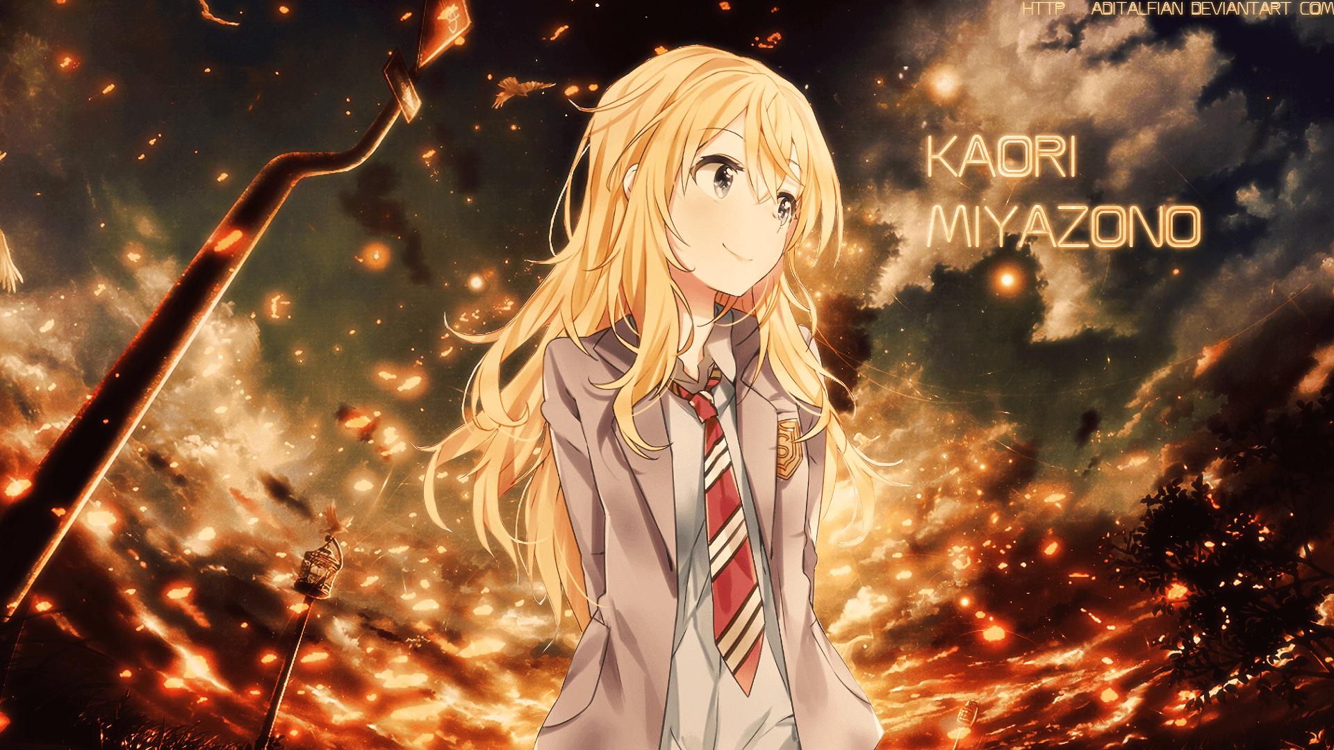 Cool Kaori Miyazono Wallpaper