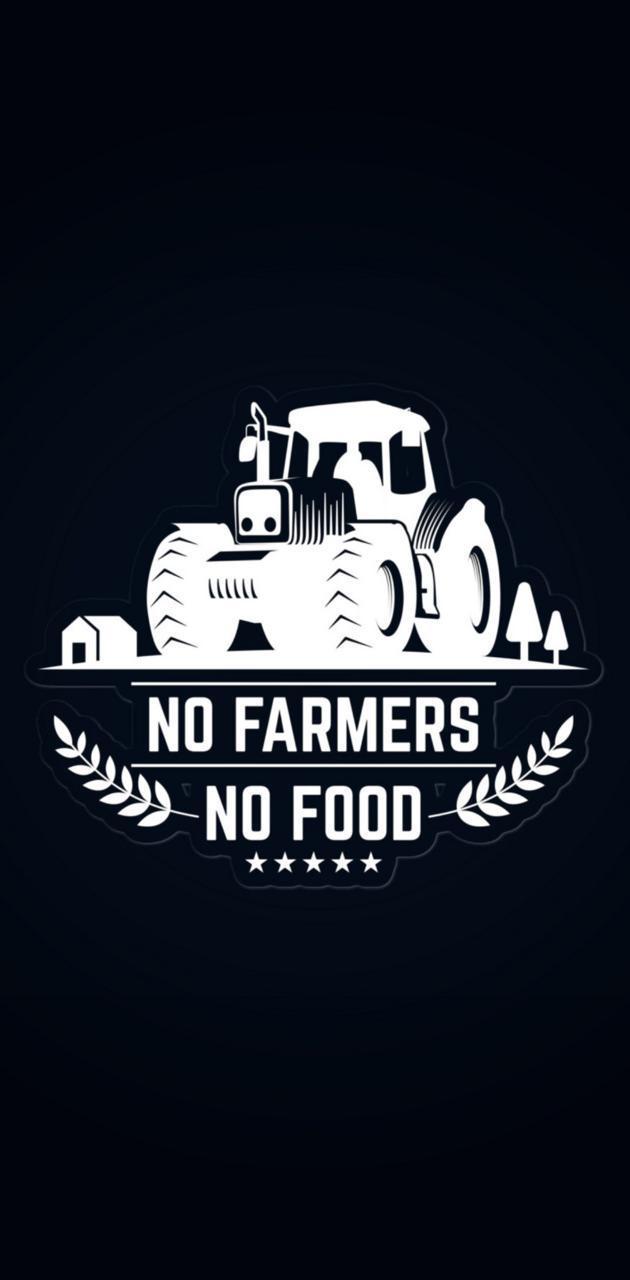 630x1280 Hình nền No Farmer No Food
