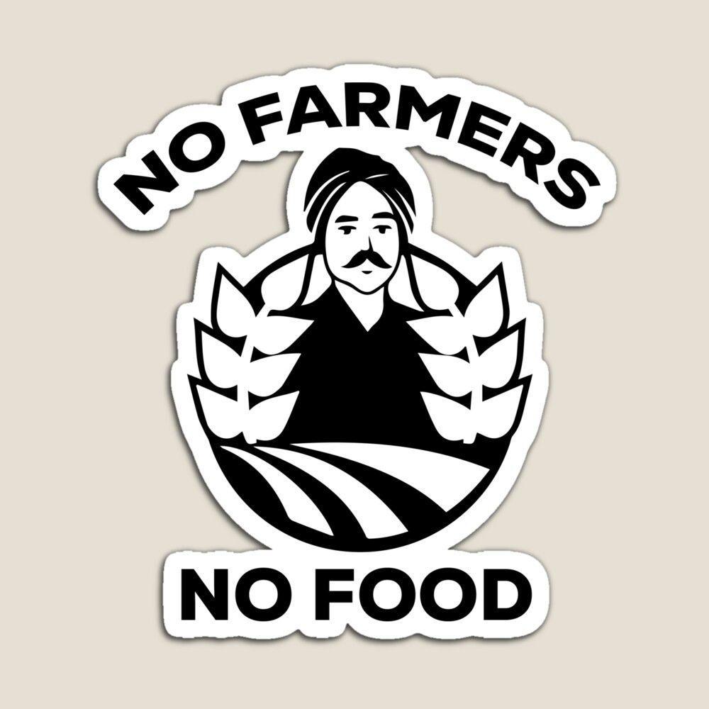 1000x1000 Không có nông dân không có thức ăn Hình dán của elmanor trên Redbubble.  Hình dán thực phẩm, Tình bạn trích dẫn hài hước, Hình ảnh trích dẫn truyền cảm hứng