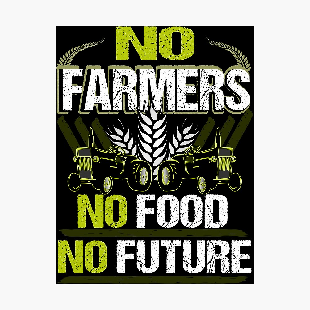 1000x1000 Không có nông dân Không có lương thực Không có nông dân nông dân nông dân tương lai Áp phích nông nghiệp