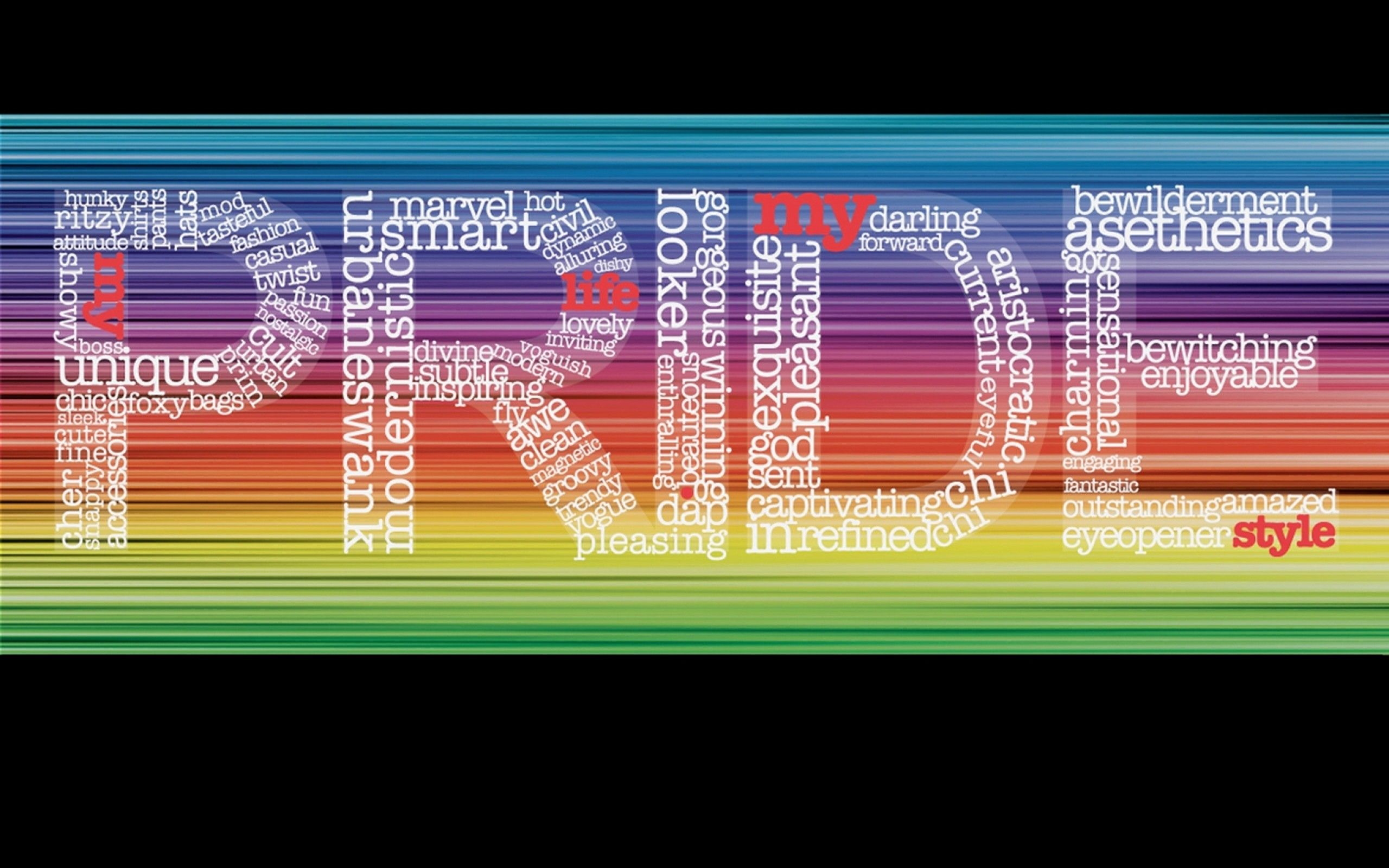 Lesbian pride computer wallpaper