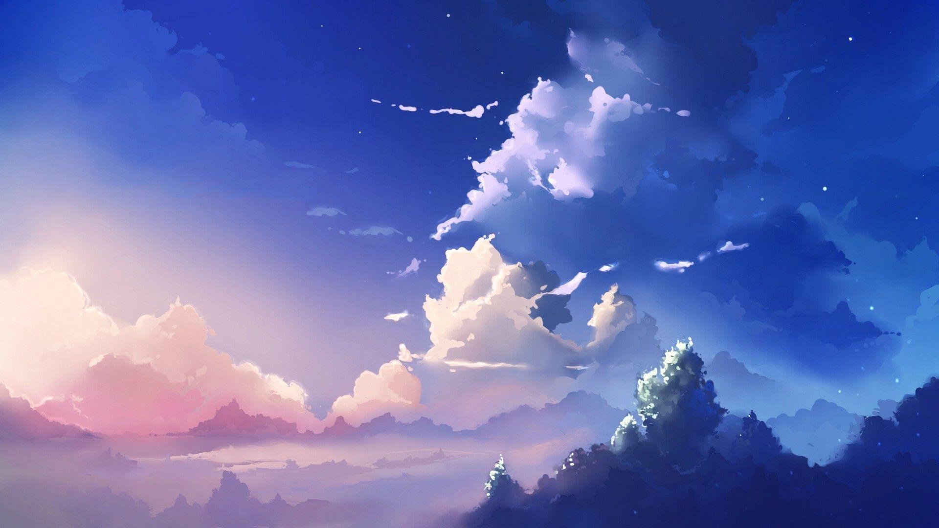 Hd Wallpaper Anime Scenery Hd Wallpaper For Desktop Background