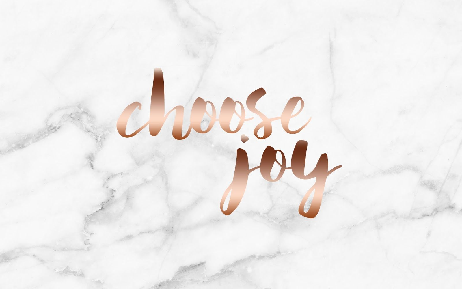 Rose Gold Marble Wallpaper With Words