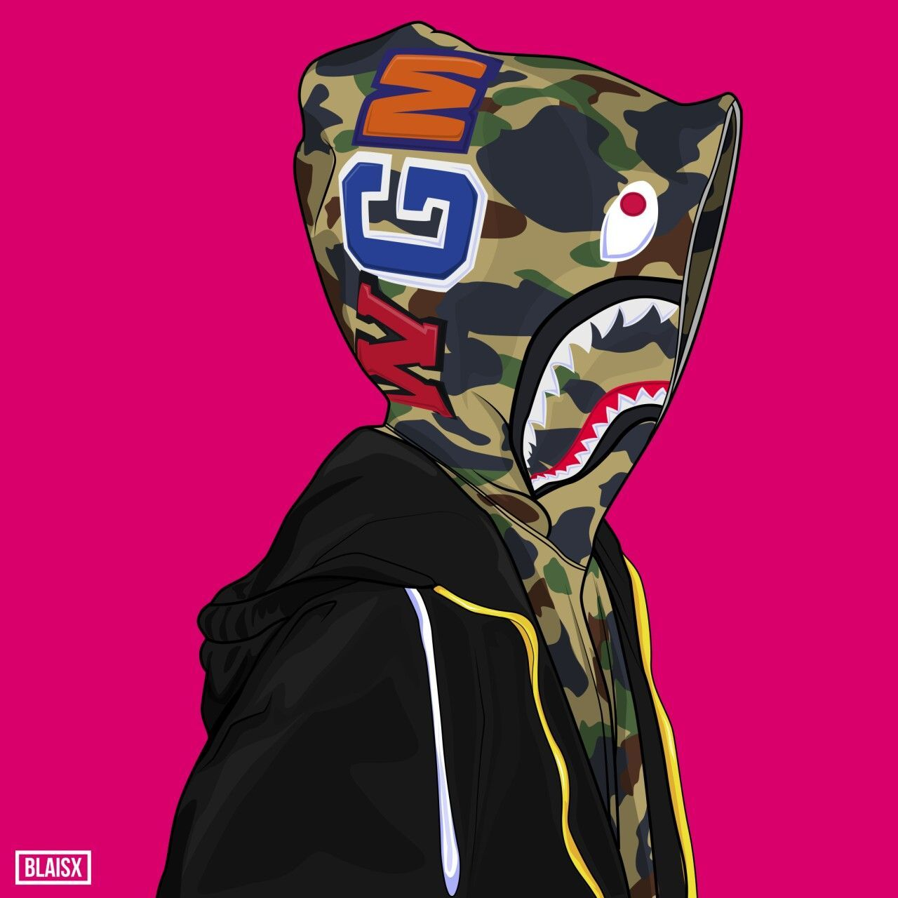 Bape Supreme Dope Cartoon Wallpapers Top Free Bape Supreme Dope