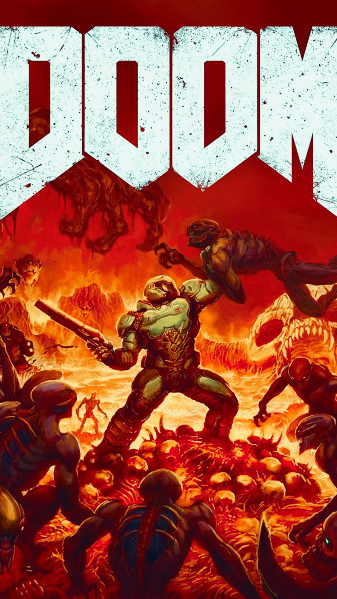 Doom Phone Wallpapers Top Free Doom Phone Backgrounds Wallpaperaccess