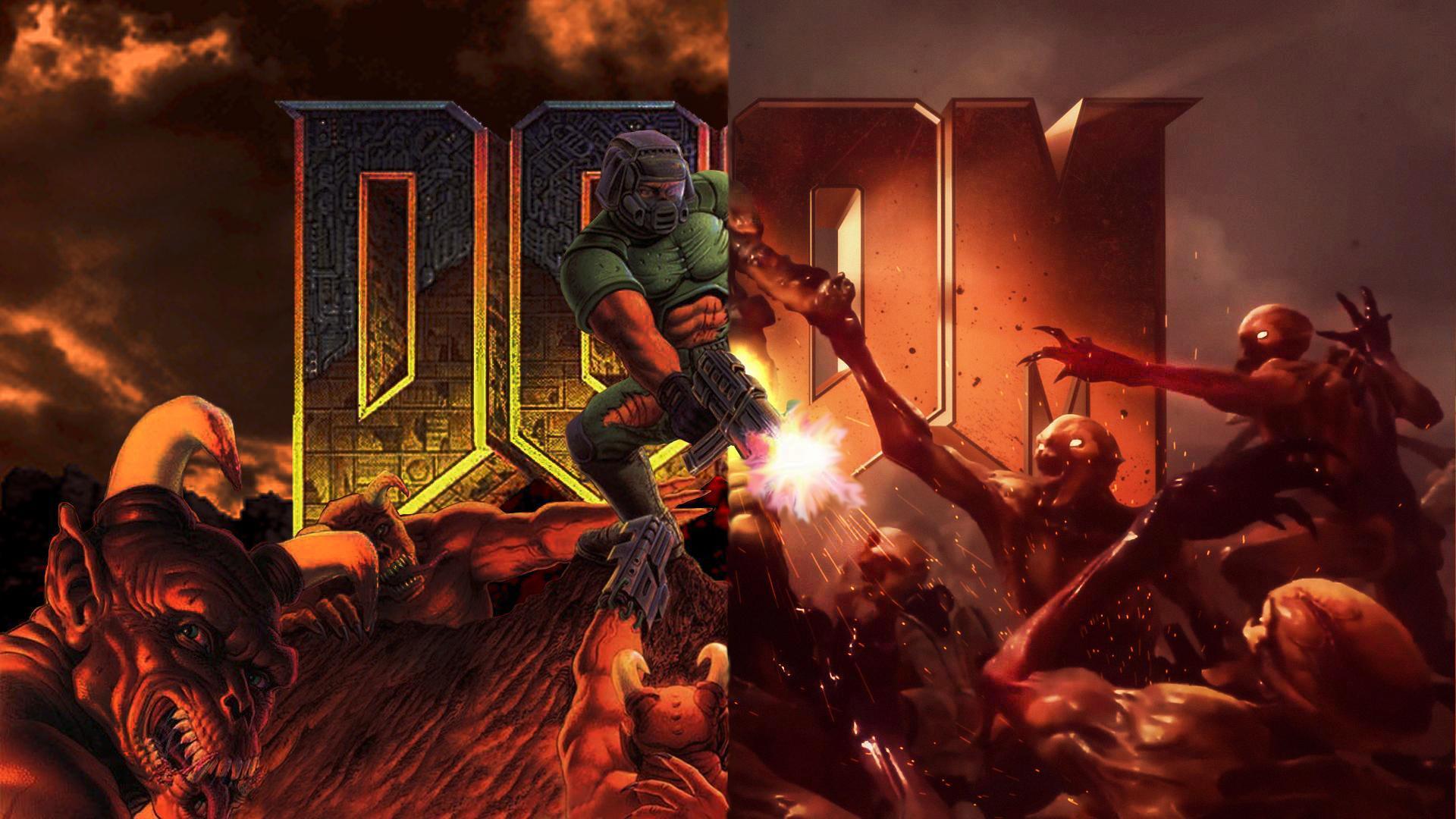 Doom Wallpapers Top Free Doom Backgrounds Wallpaperaccess