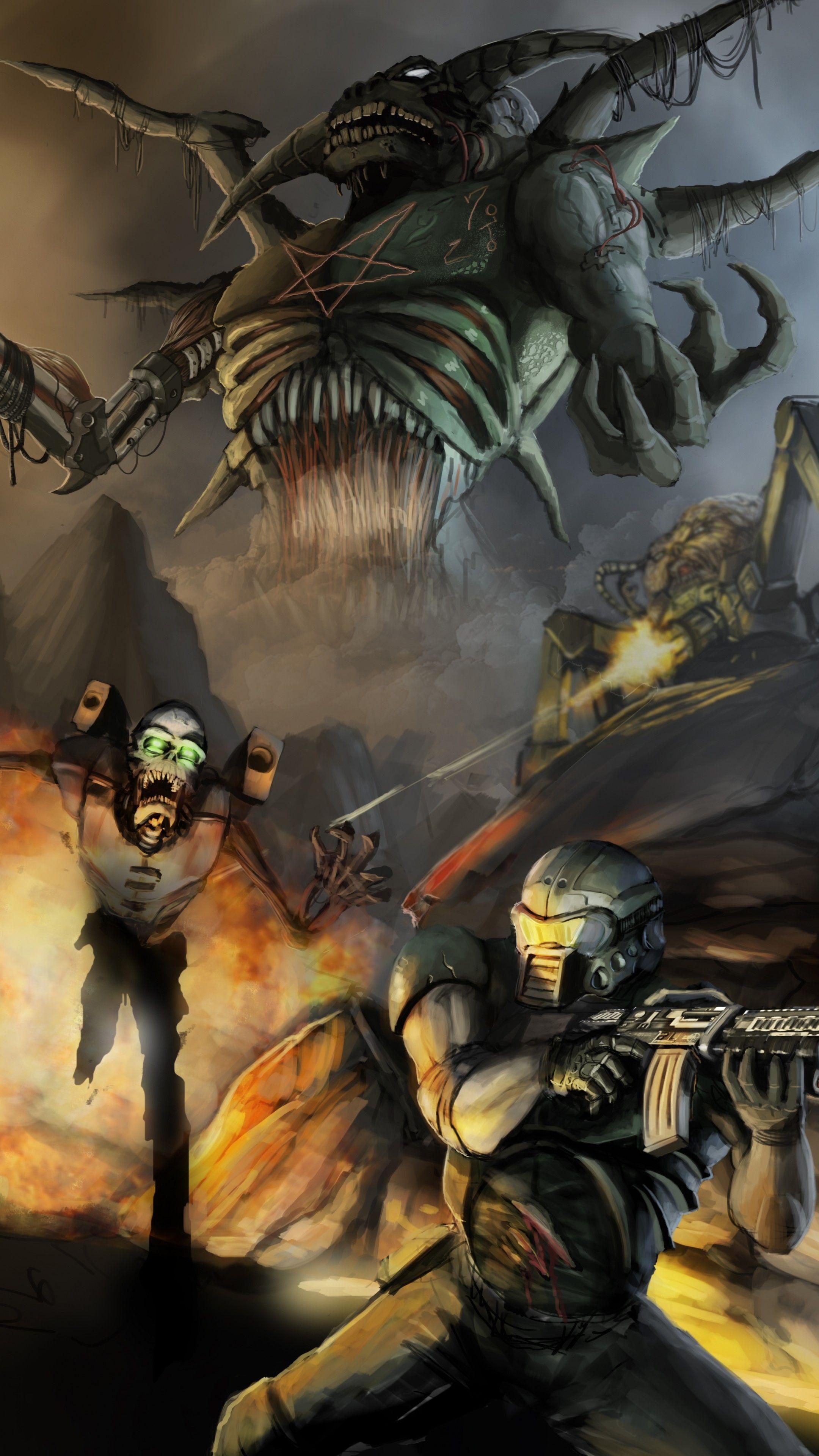 Doom Phone Wallpapers - Top Free Doom Phone Backgrounds