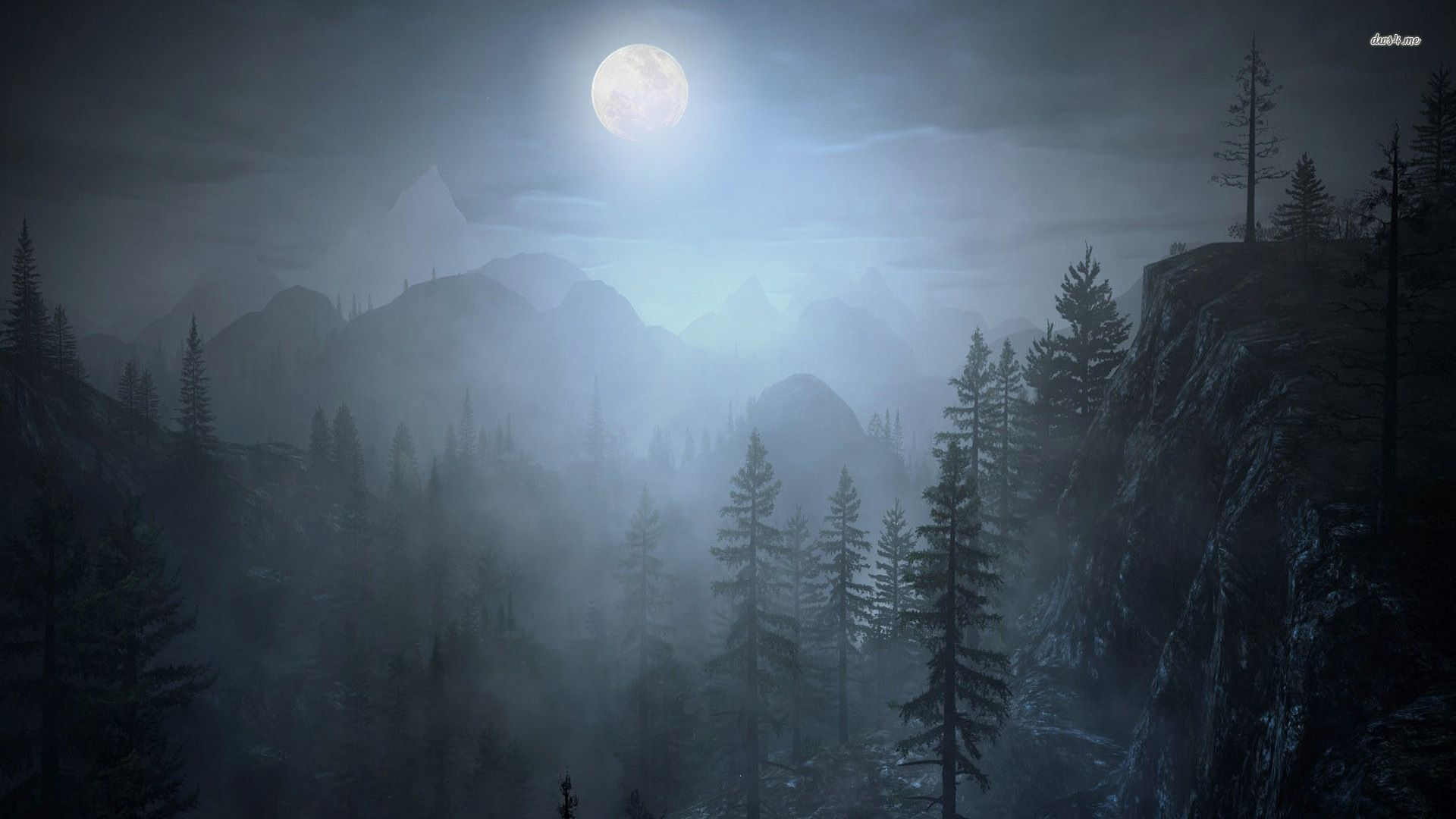 Ghost Forest Night Wallpapers Top Free Ghost Forest Night