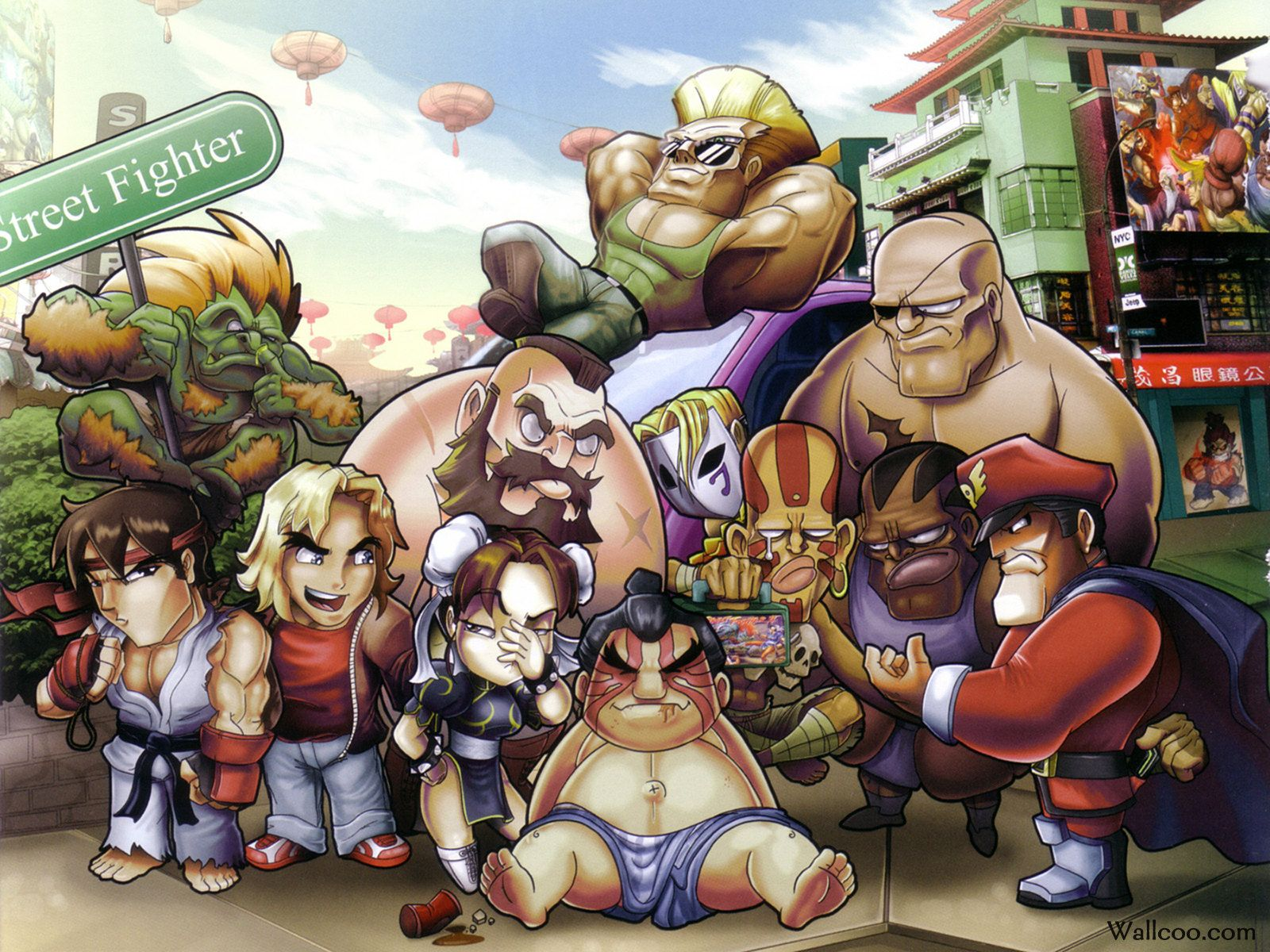 Anime Street Fighter Wallpapers - Top Free Anime Street