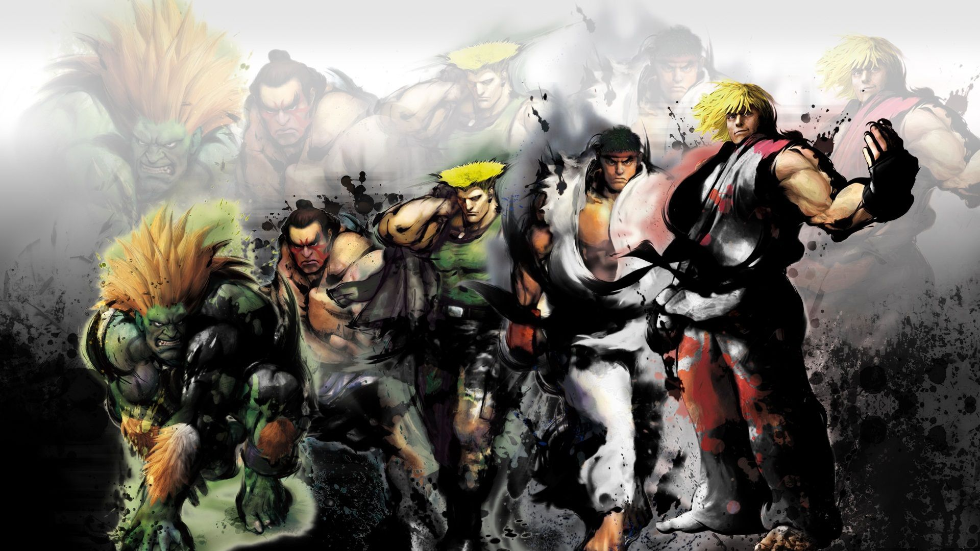 Street Fighter 4 Wallpapers: Anime Street Fighter Wallpapers