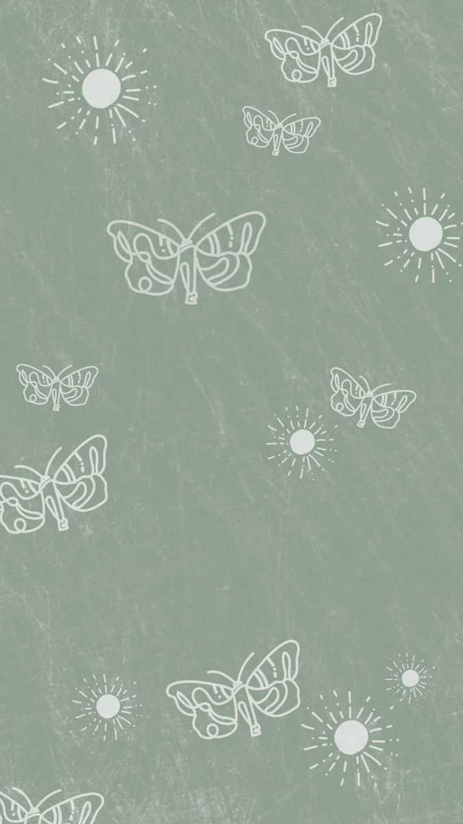 Hình nền thẩm mỹ màu xanh lá cây Sage 675x1200 - KoLPaPer - Hình nền HD miễn phí tuyệt vời