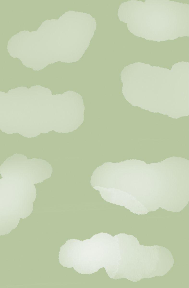 Hình nền những đám mây màu xanh lá cây sage 787x1200 vào năm 2021. Hình nền màu xanh lá cây, Hình nền màu xanh lá cây hiền triết, Hình nền màu xanh lá cây của iPhone
