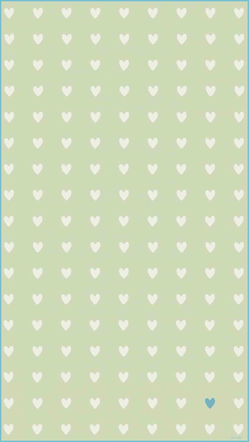 865x1536 Sage Khaki Mini Hearts Hình nền iPhone Hình nền điện thoại - Sage Green Wallpaper