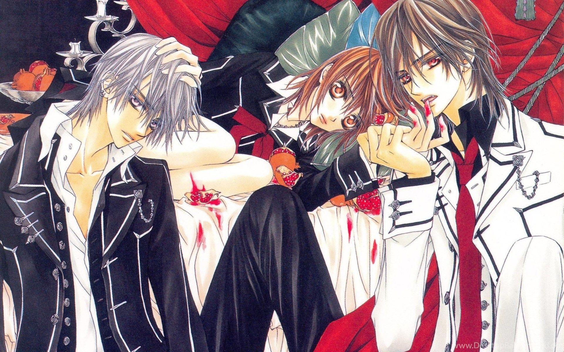 66 Best Free Vampire Knight Zero And Yuki Wallpapers Wallpaperaccess