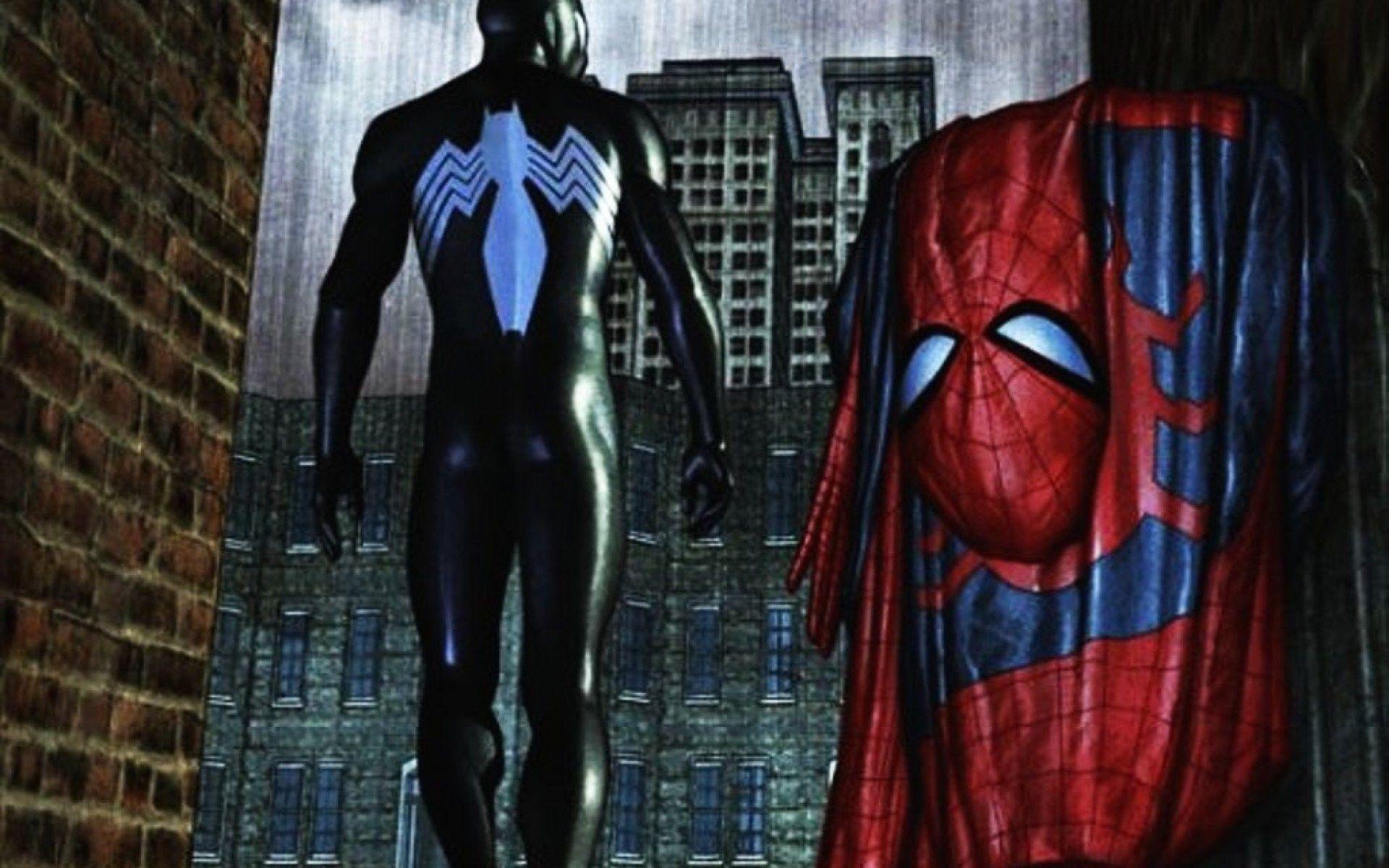 Spider Man Black Suit Wallpapers Top Free Spider Man Black