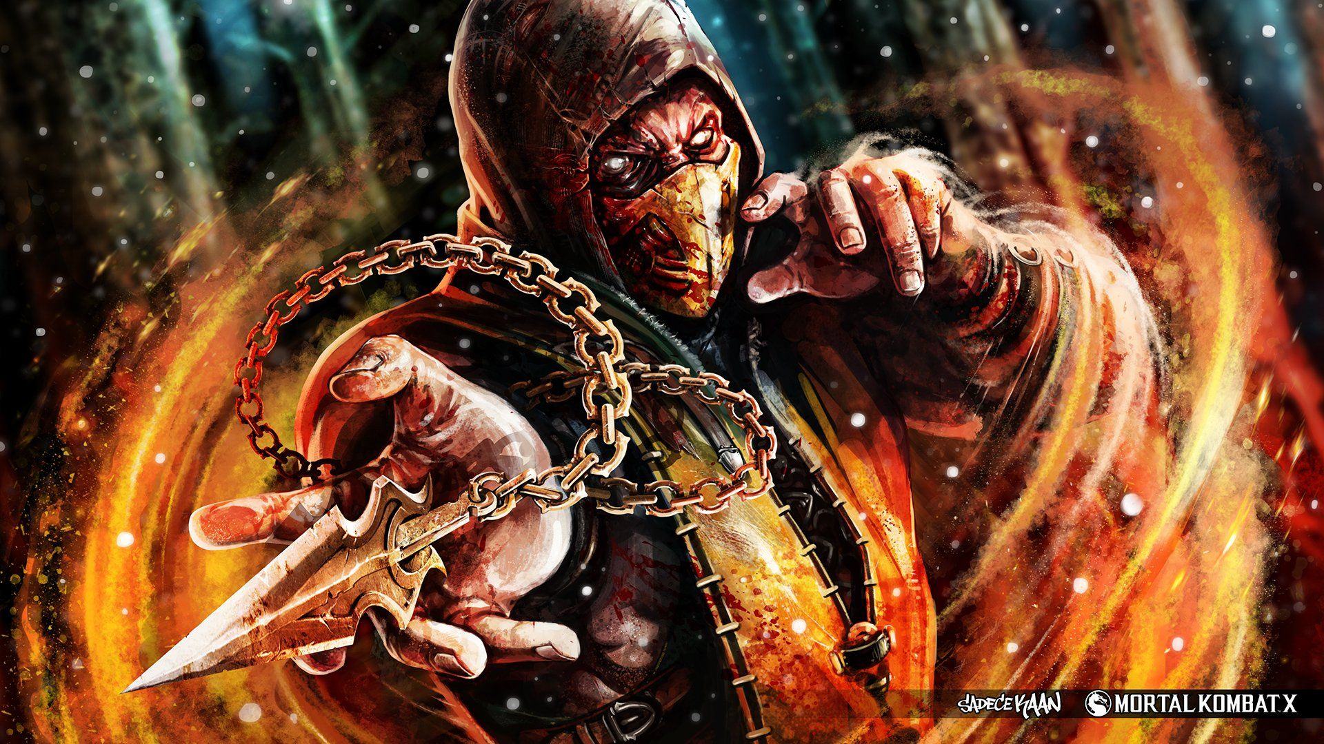 Mortal Kombat X Wallpapers Top Free Mortal Kombat X Backgrounds Wallpaperaccess