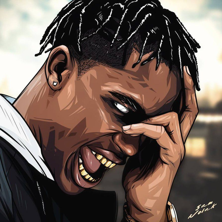 Travis Scott Cartoon Wallpapers