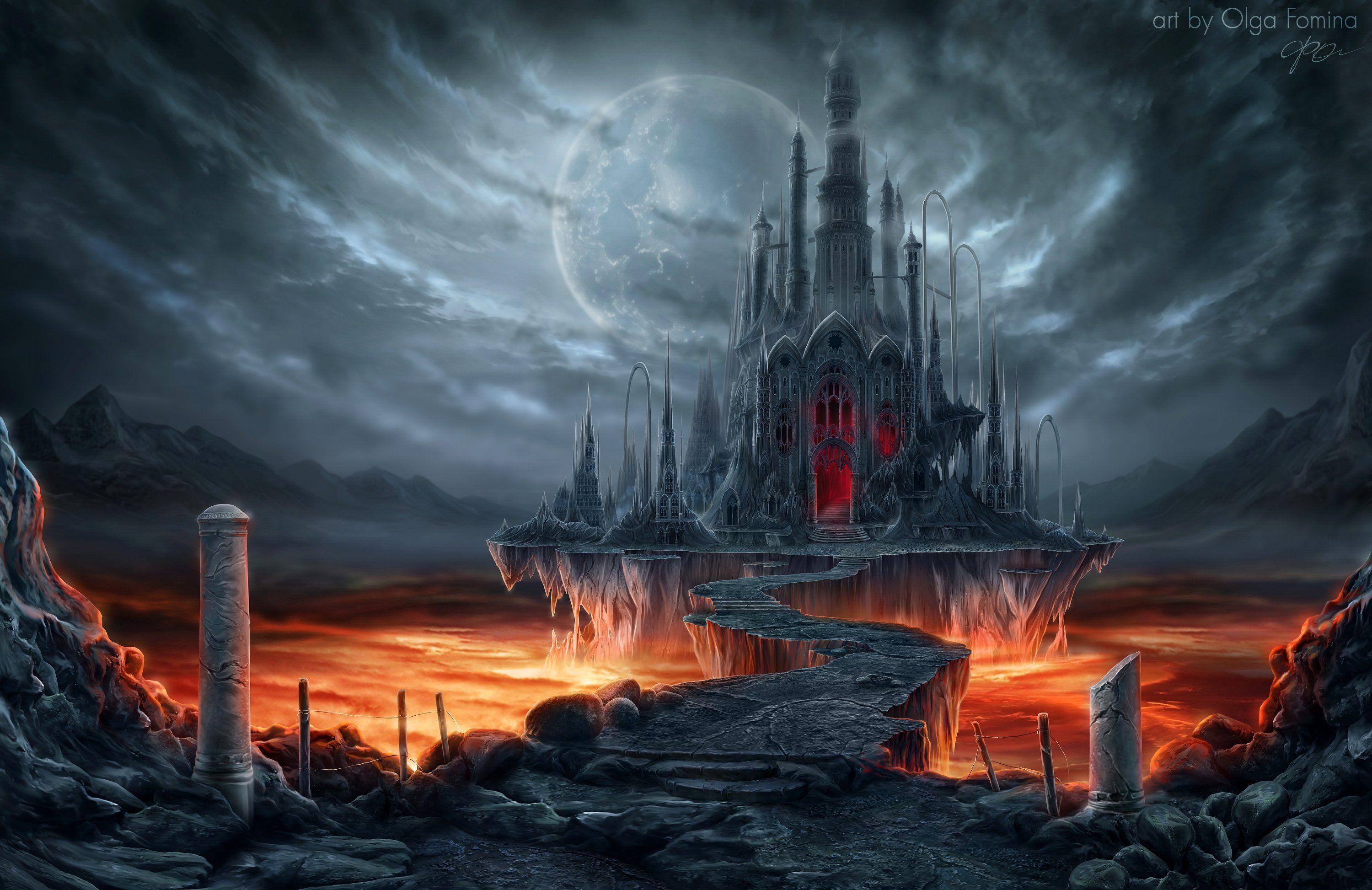 Creepy Vampire Castle Wallpapers Top Free Creepy Vampire Castle