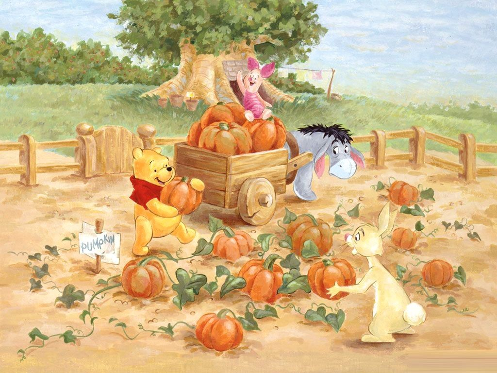 Winnie The Pooh Thanksgiving Wallpapers Top Free Winnie The Pooh