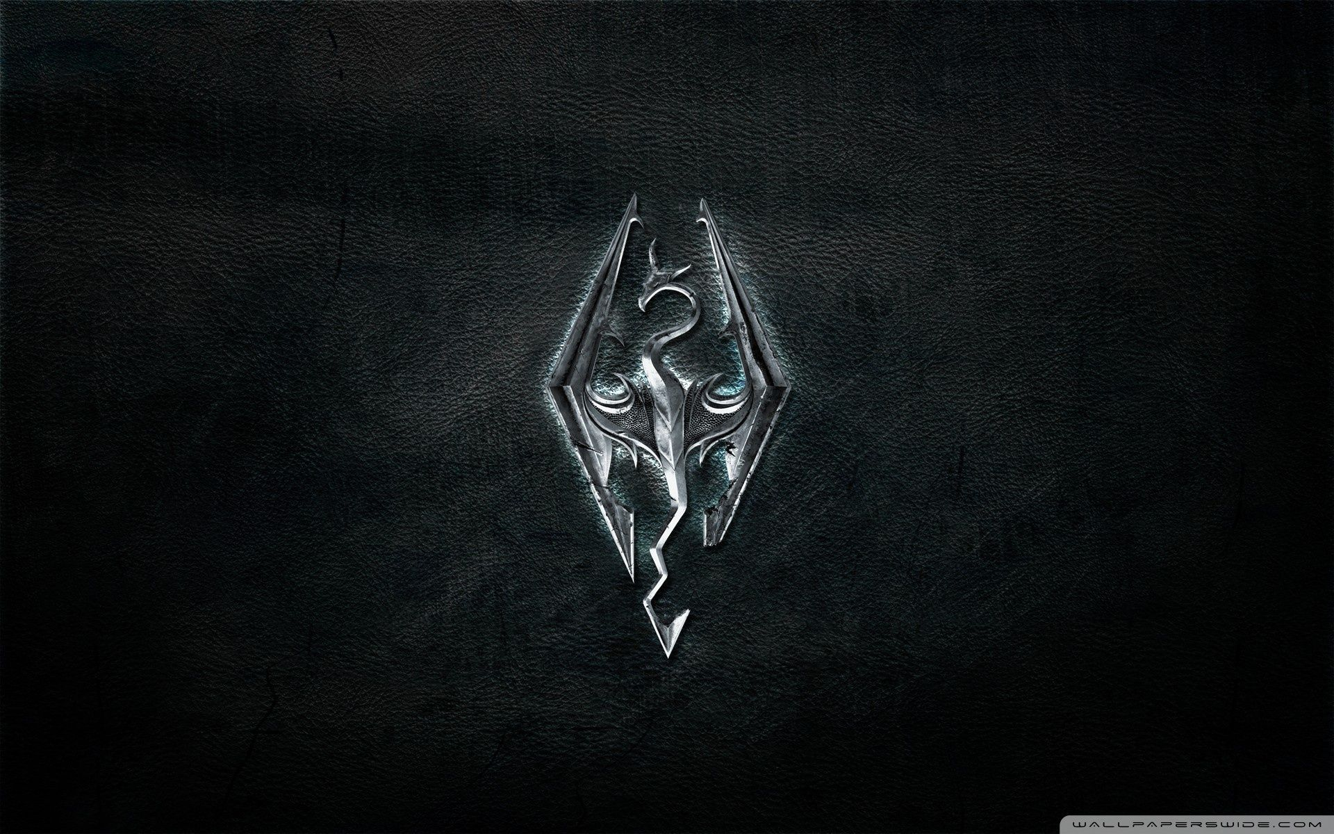 Skyrim Logo Wallpapers - Top Free Skyrim Logo Backgrounds - WallpaperAccess