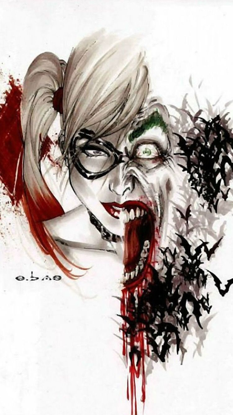 Joker Harley Quinn Iphone Wallpapers Top Free Joker Harley Quinn