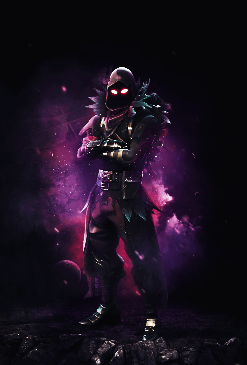 Epic Fortnite Raven Wallpapers Top Free Epic Fortnite Raven Backgrounds Wallpaperaccess
