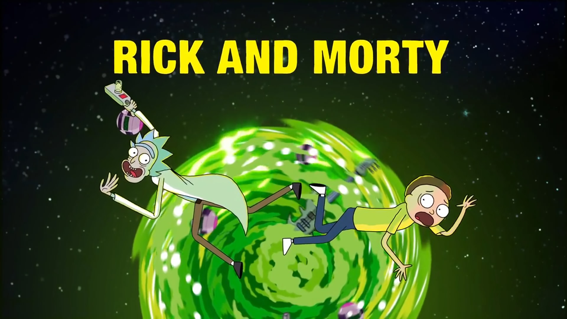 "1920x1080 Rick and Morty Wallpapers (Desktop) — Steemit"">"