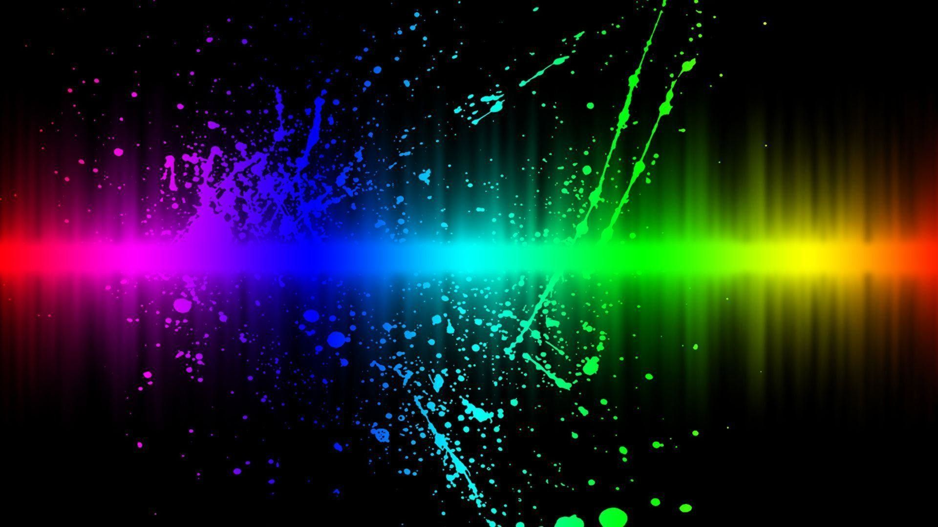 Cool Rainbow Computer Backgrounds