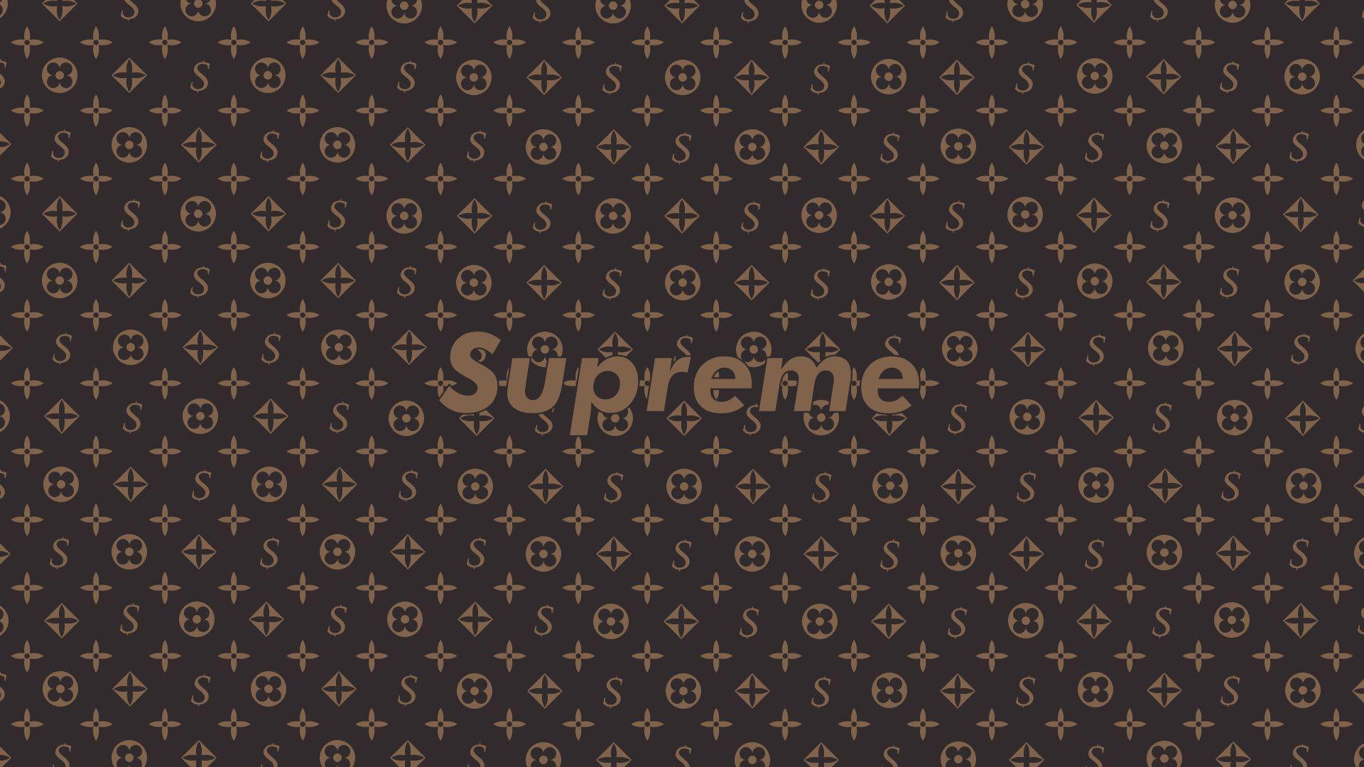 Supreme X Louis Vuitton Wallpapers Top Free Supreme X Louis
