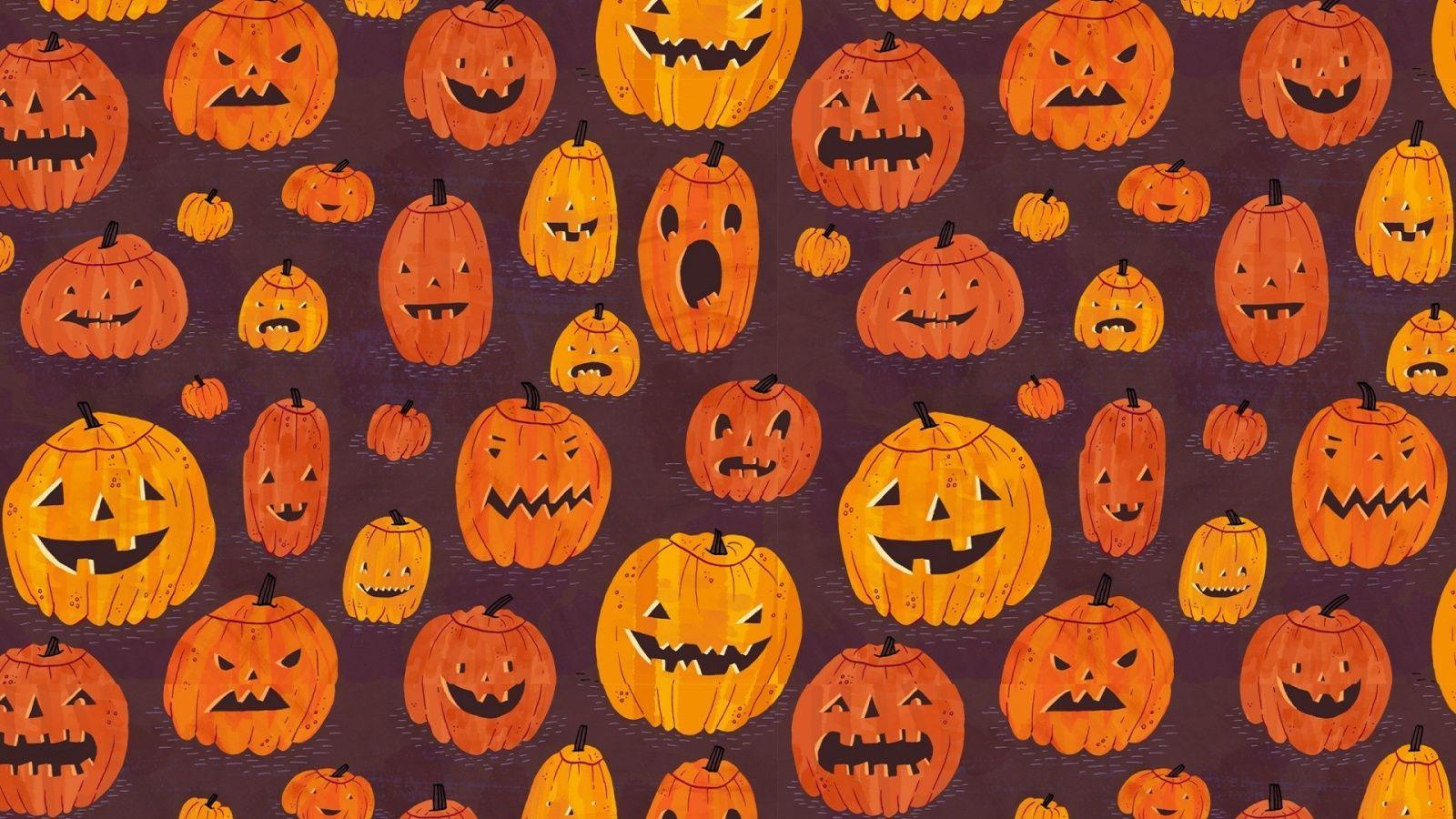 Desktop Aesthetic Halloween Wallpapers - Top Free Desktop ...