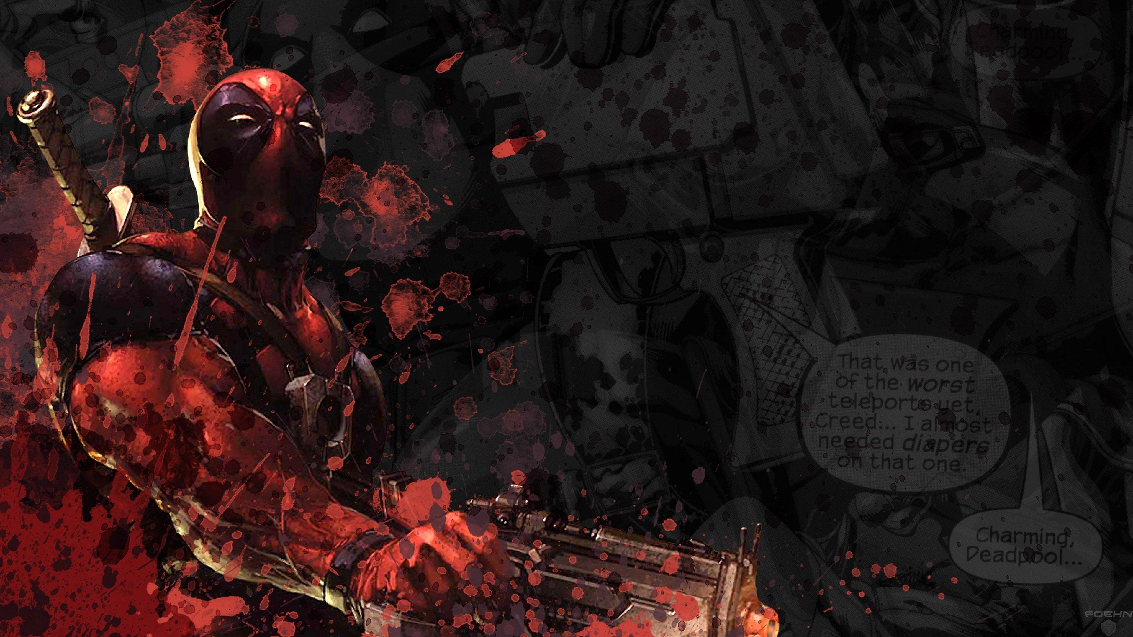 4k Deadpool Wallpapers Top Free 4k Deadpool Backgrounds