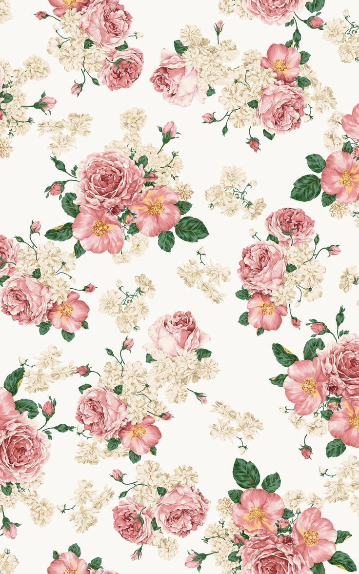 Girly Vintage Floral Wallpapers Top Free Girly Vintage Floral