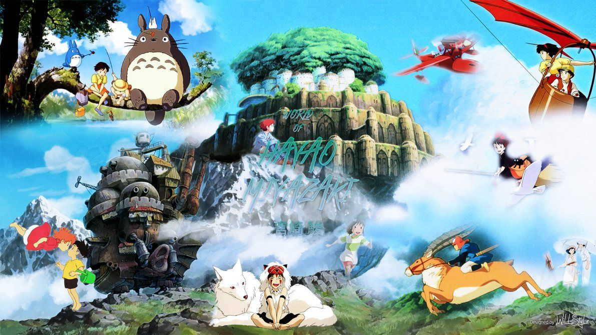 Hayao Miyazaki Wallpapers Top Free Hayao Miyazaki