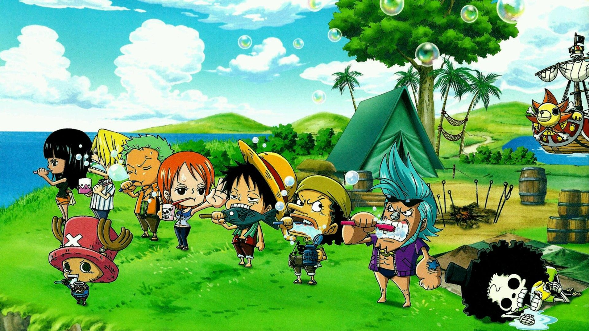 One Piece Chibi Wallpapers Top Free One Piece Chibi