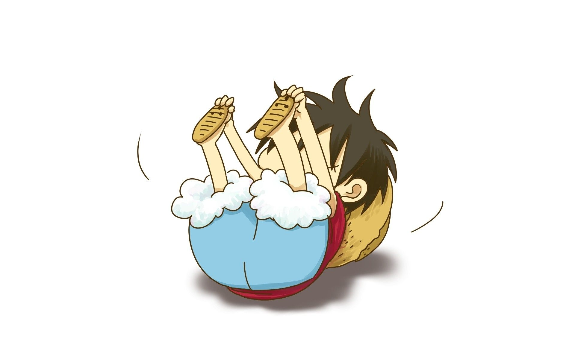 One Piece Chibi Wallpapers Top Free One Piece Chibi Backgrounds Wallpaperaccess