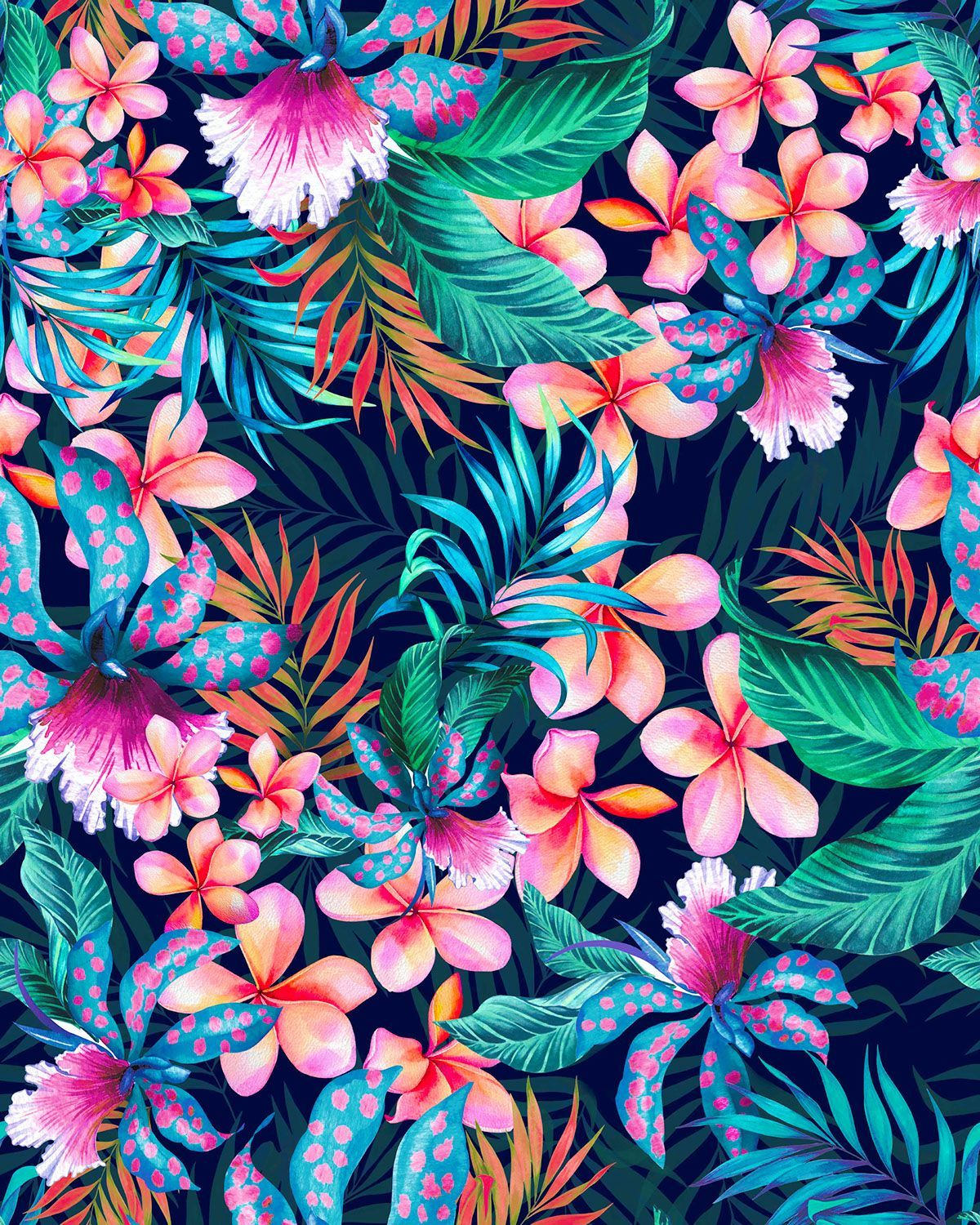 Hawaiian Floral Wallpapers Top Free Hawaiian Floral Backgrounds