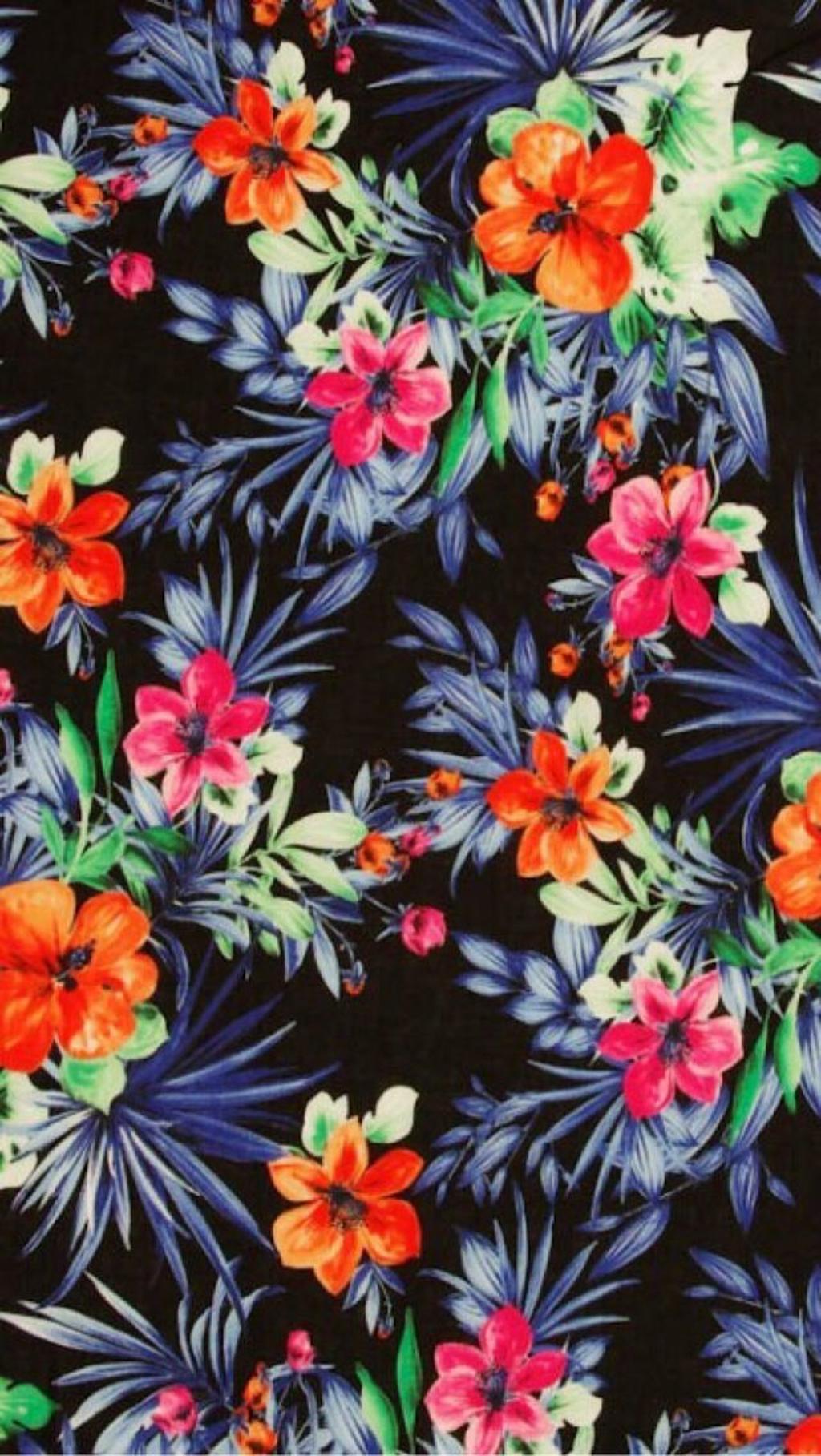 Hawaii Print Iphone Wallpapers Top Free Hawaii Print