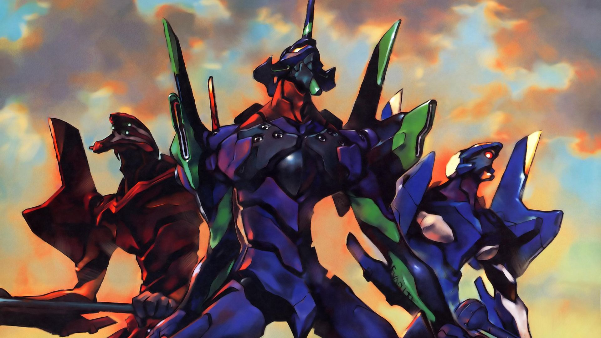 Neon Genesis Evangelion Desktop Wallpapers Top Free Neon Genesis