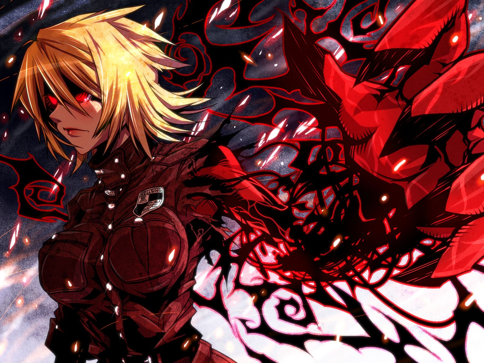 2560x1440 Download Wallpaper Hellsing Alucard Art Hd Background