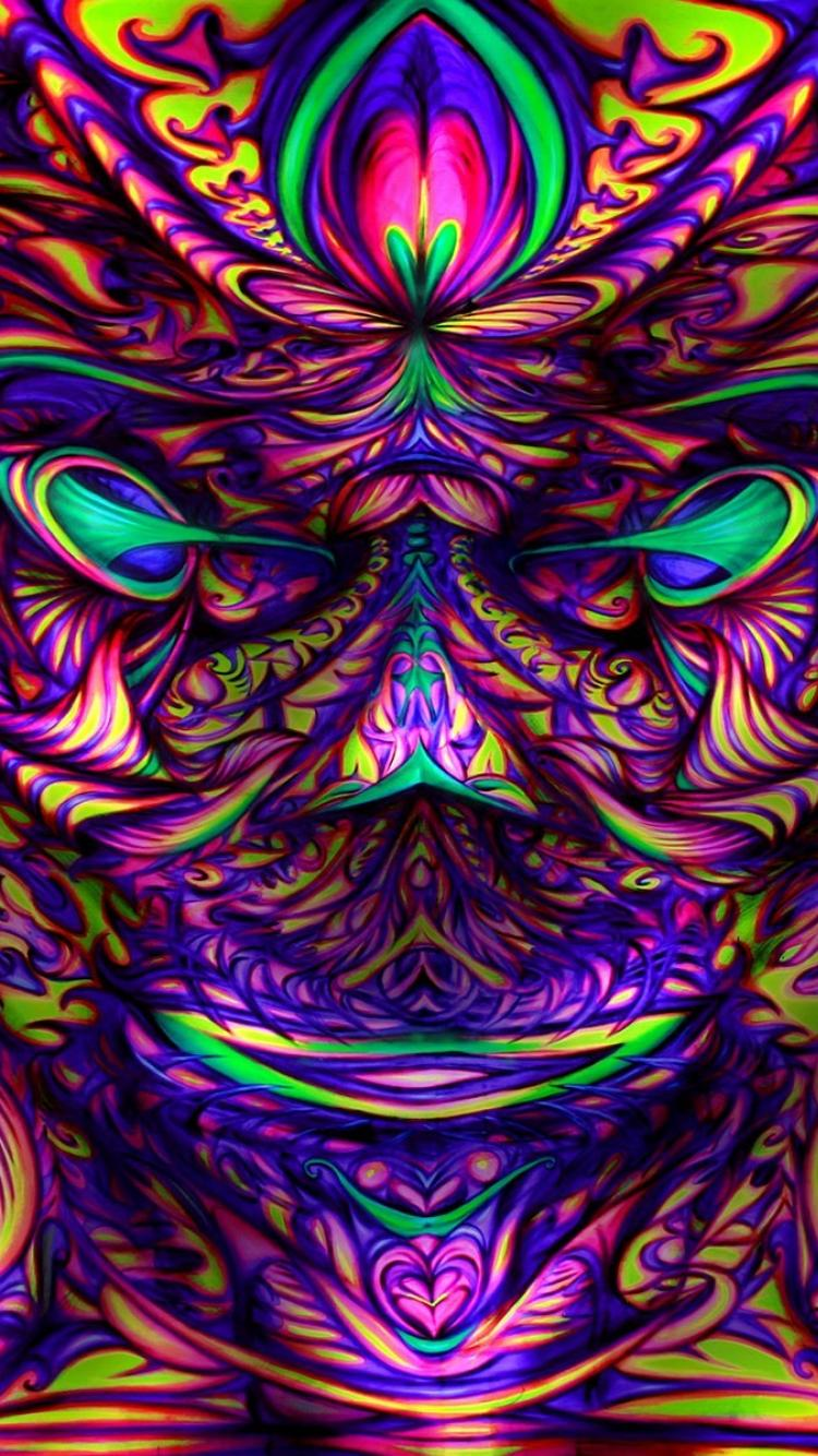 Psychedelic Iphone Wallpapers Top Free Psychedelic Iphone Backgrounds Wallpaperaccess