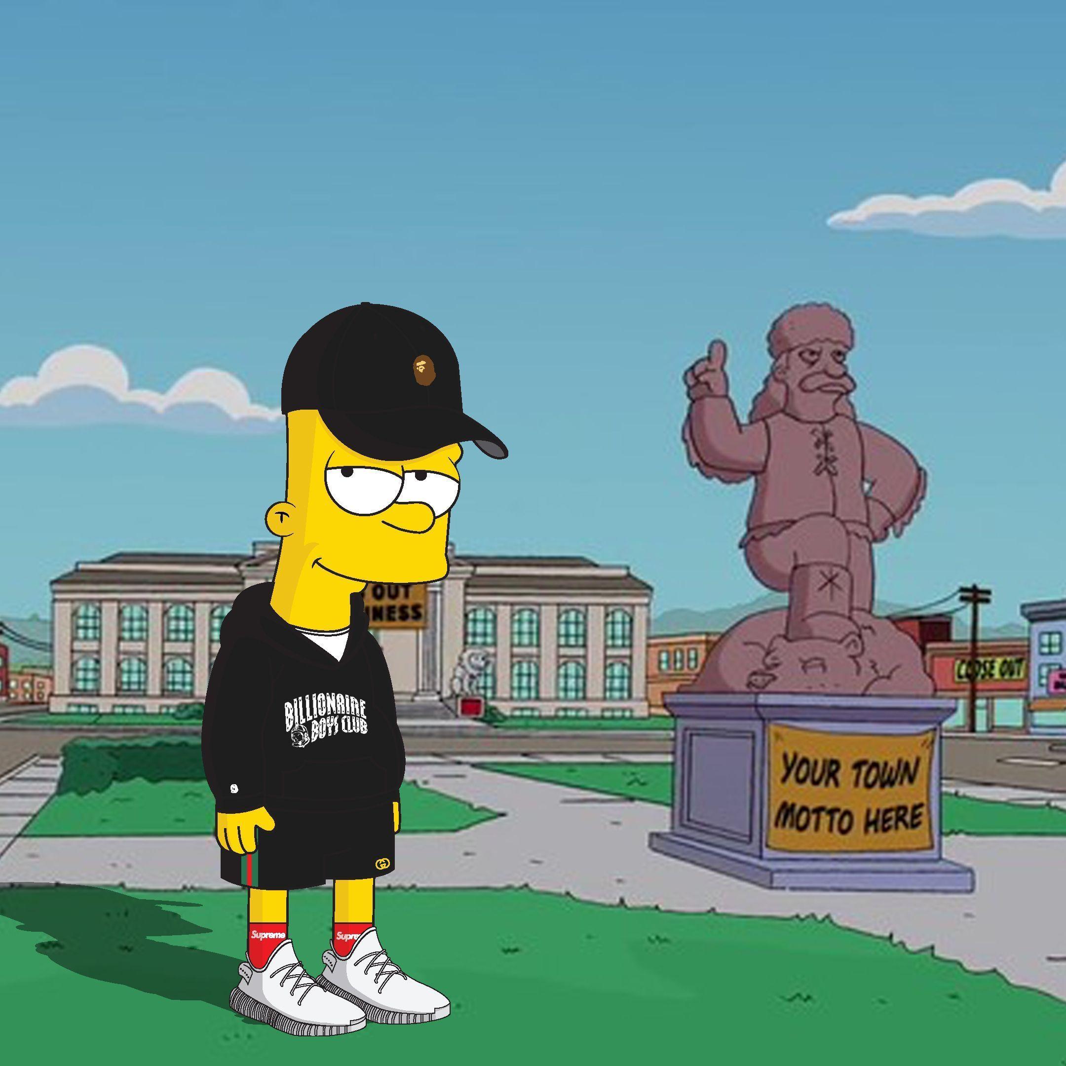 Hypebeast Bart Simpson Wallpapers Top Free Hypebeast Bart