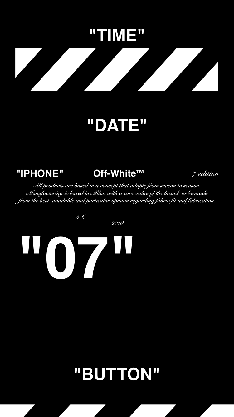 Off White Iphone Wallpapers Top Free Off White Iphone Backgrounds Wallpaperaccess